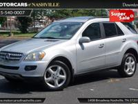 This 2008 Mercedes-Benz M-Class 4dr ML320 4MATIC 4dr