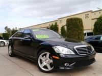 This Certified Pre-Owned 2008 Mercedes Benz S550 is
