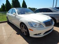 Arctic White 2008 Mercedes-Benz S-Class S 550 4MATIC