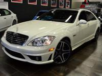 This 2008 Mercedes-Benz S-Class 4dr 4dr Sedan 6.3L V8