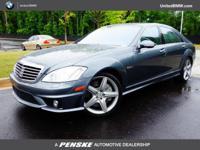Flint Grey Metallic exterior, 6.3L V8 AMG trim. NAV,
