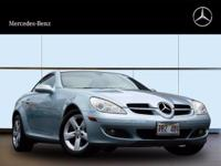 This 2008 Mercedes-Benz SLK-Class 3.0L is offered to
