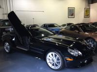 This is a Mercedes-Benz SLR McLaren for sale by Crave