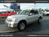 2008 mountaineer,... natural leather,... power boards,