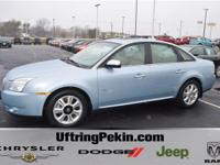 This is a 2008 Mercury Sable Premier. A LOCAL TRADE and