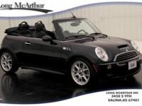 CONVERTIBLE S, MANUAL TRANSMISSION, LEATHER SEATS,