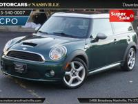 This 2008 MINI Cooper Clubman 2dr S features a 1.6L 4