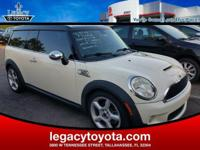 Clean CARFAX. LEATHER, POWER SUNROOF, Cooper S Clubman,