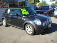 2008 Mini Cooper ** GAS SAVER! Leather! SALE! -Vin #: