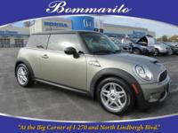 SUPER CLEAN ONE OWNER MINI S AUTOMATIC HATCHBACK! THIS