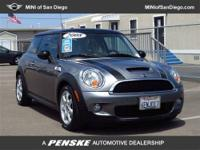 This 2008 MINI Cooper Hardtop 2dr 2dr Cpe S Hatchback