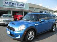 Sugary food Mini Cooper S with low miles and in