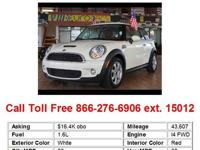 2008 Mini CooperS Base 2dr Hatchback Hatchback 2 Doors