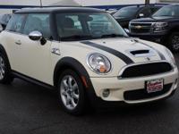 New Price! White Silver Metallic 2008 MINI Cooper S