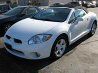 This 2008 Mitsubishi Eclipse Spyder convertible comes