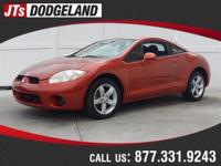 Options:  2008 Mitsubishi Eclipse Gs|Orange/|V4 2.4L