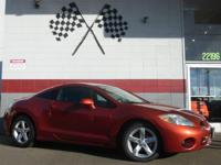 Options:  2008 Mitsubishi Eclipse Gs 2Dr