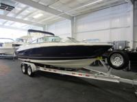CLEAN 2008 MONTEREY 214 FS WITH ONLY 240 ENGINE HOURS!