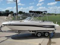 2008 NAUTIC STAR 222 DC FISH AND SKI deck boat. This