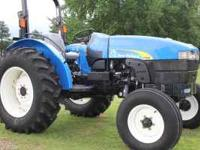 Here is a New Holland TT60A farm tractor. It is a 2008