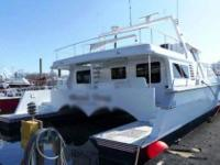 2008 New Yorker 57 Power Cat Vessel is a custom-built