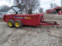 For sale 2008 new holland 195 manure spreader with