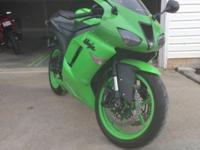I have for sale a 2008 Ninja ZX-6R. It has 15,569 miles