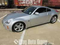 YOU ARE VIEWING A 2008 NISSAN 350Z COUPE THAT IS SILVER