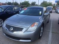 Red and Ready! Gasoline! 2008 Nissan Altima 2.5 S FWD.