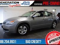 2008 Nissan Altima. You'll NEVER pay too much at