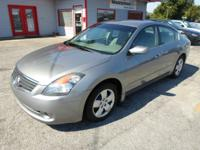 2008 NISSAN ALTIMA 2.5S GRAY ON GRAY AUTO WITH ONLY