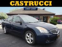 New Price! CARFAX One-Owner. Clean CARFAX.  Blue 2008