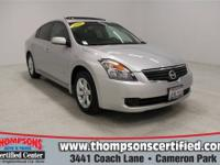 Grab a bargain on this 2008 Nissan Altima while we have