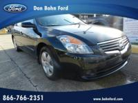 Don Bohn Ford presents this 2008 NISSAN ALTIMA 4DR SDN