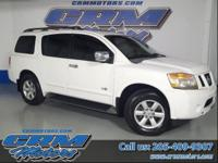 This is a nice 2008 Nisson Armada SE with a great ride