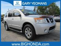 This 2008 Nissan Armada Includes. CLEAN CARFAX NO