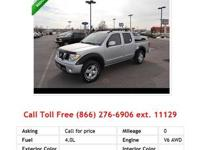 2008 Nissan Frontier CrewCabLe Truck Gray V6 4.0L Gas