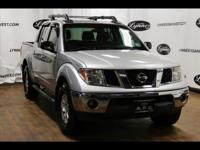 For a smoother ride, opt for this 2008 Nissan Frontier