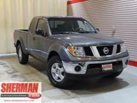 New Arrival! This 2008 Nissan Frontier SE, has a great