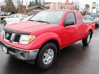 Nissan Frontier Red 4.0L V6 SMPI DOHC, ABS brakes, Low