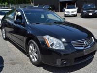 This 2008 Nissan Maxima 4dr - features a 3.5L V6