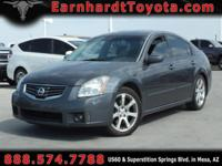 We are happy to offer you this nice 2008 Nissan Maxima