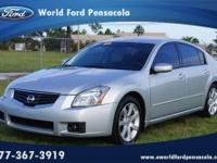 World Ford Pensacola presents this 2008 NISSAN MAXIMA