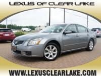 Lexus Clear Lake presents this 2008 NISSAN MAXIMA 4DR