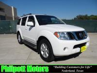 Options Included: N/A2008 Nissan Pathfinder, white with