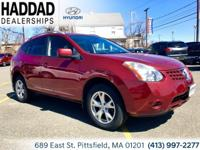 2008 Nissan Rogue SL Red AWD. 21/26mpg  689 East st.