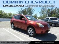 New Price! Clean CARFAX. Maroon 2008 Nissan Rogue SL