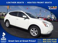 Used 2008 Nissan Rogue,  DESIRABLE FEATURES:   LEATHER