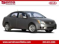 Magnetic Gray 2008 Nissan Sentra 2.0 FWD CVT with