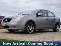 2008 Nissan Sentra 2.0 S in Brilliant Silver, This